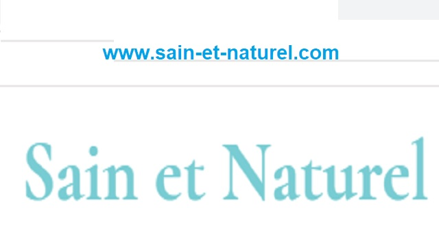 SainEtNaturel