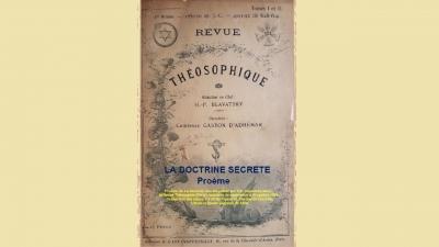 La Doctrine Secrète - Proème